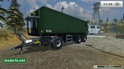 ПрицепKroeger Agroliner SMK 34 дляFarming Simulator 2013