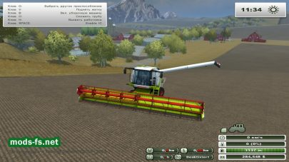 Комбайн Claas Lexion 770 Terra Trac для Farming Simulator 2013