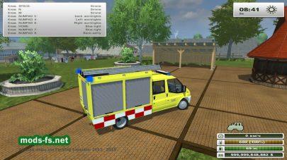 TSF W Ford Transit v1.0 для FS 2013