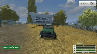 Мод автомобиляJEEP WRANGLER V 0.95 ALPHA