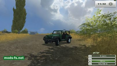 JEEP WRANGLER для Farming Simulator 2013