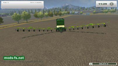 Мод силосного прицепа для Farming Simulator 2013