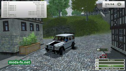 Модификация MERCEDES BENZ g65 AMG