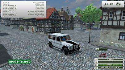 Джип MERCEDES для Farming Simulator 2013