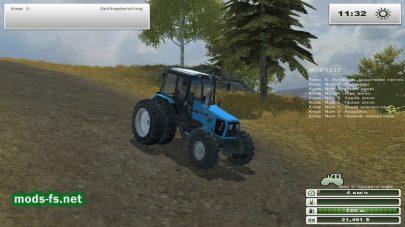 Трактор МТЗ для FS 2013