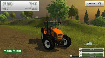 Модификация Мод RENAULT ARES 610 RZ