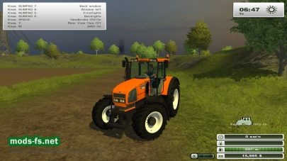 Трактор RENAULT ARES для Farming Simulator 2013