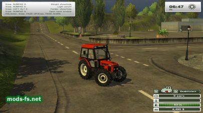 Мод трактора Zetor 7340 turbo для FS 2013