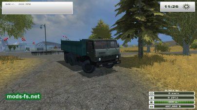 Камаз 55102 дляFarming Simulator 2013