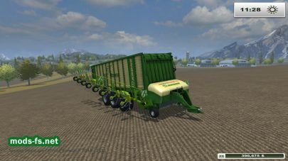 Мод KRONE ZX 550 GD RAKE M20_V2 для Farming Simulator 2013