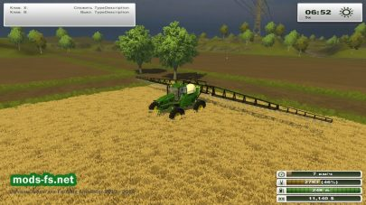 John Deere 4830 Sprayer для FS 2013