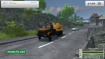KrAZ 7140 Tanker