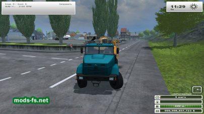 Цистерна КРАЗ 7140 Tanker