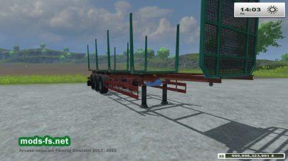 Мод Koegel timber trailers для FS 2013