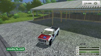 Автомобиль FORD для игры FS 2013