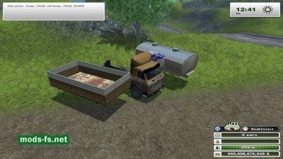 МАЗ 500 для игры Farming Simulator 2013