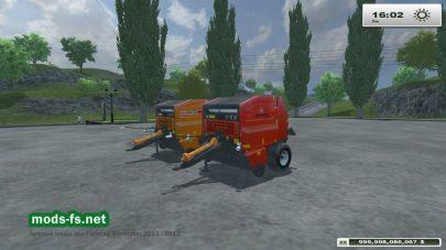 Мод Warfama Z543 & Ursus Z543 для Фермер Симулятор 2013