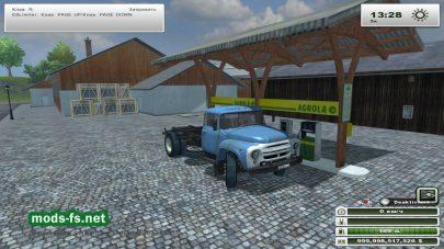 Мод грузовика ЗИЛ для Farming Simulator 2013