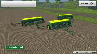 John Deere 8350 Grain Drill Seeder_FS2013