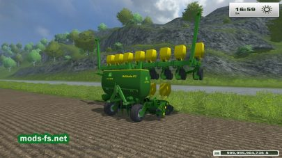 Мод сеялки John Deere MS612 Multi Seeder