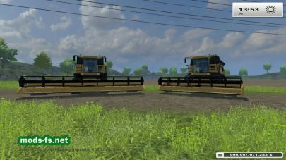Мод New Holland 9090 EVO для FS 2013