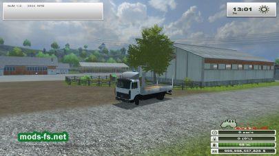 Мод грузовика МАЗ-437040