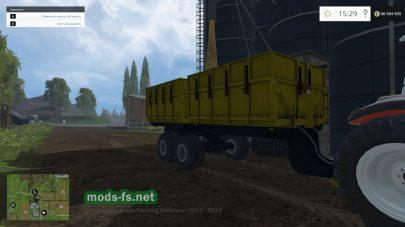 Самосвальный прицеп для Farming Simulator 2015