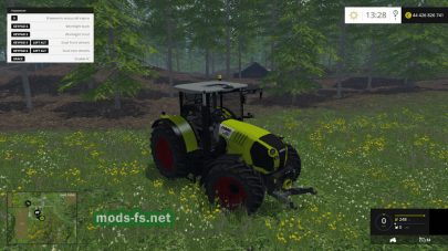 Мод Claas Arion 650