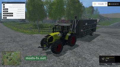 Трактор Claas Arion 650 для Фермер Симулятор