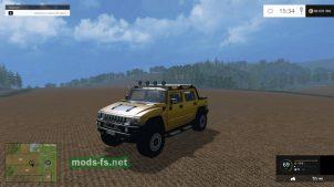 Хаммер для Farming Simulator 2015
