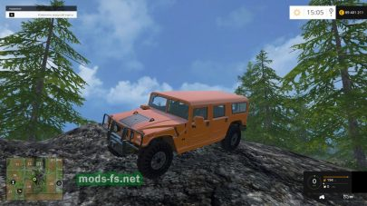 Мод автомобиля Hummer