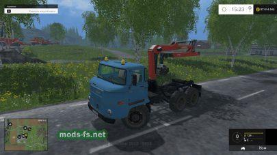 Машина для погрузки леса