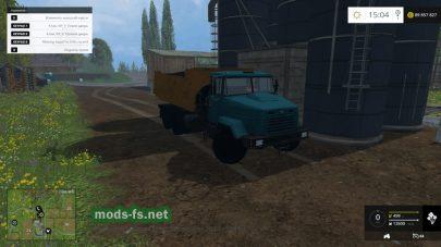 Мод грузовика КрАЗ 6510