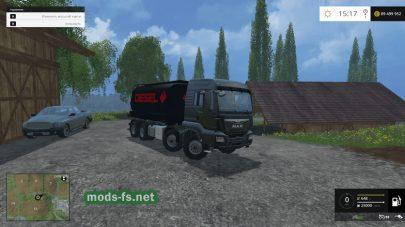 Тягач MAN TGS 8×8 для Farming Simulator 2015