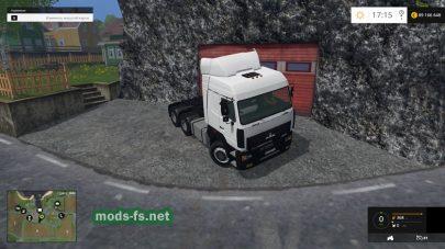 Мод тягача МАЗ 6430 для FS 2015
