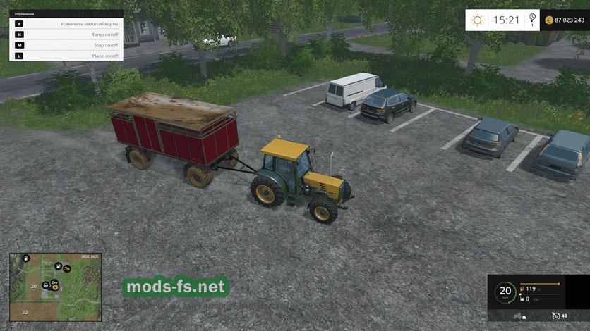 Скачать мод на фермер симулятор 2015 на уаз