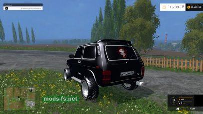 Мод автомобиля «Нива» ВАЗ 2121