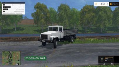 Мод грузовика ГАЗ САЗ 35071