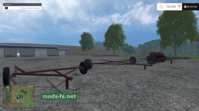Русская сеялка для Farming Simulator 2015