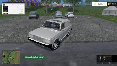 Мод легкового автомобиля ВАЗ-2104