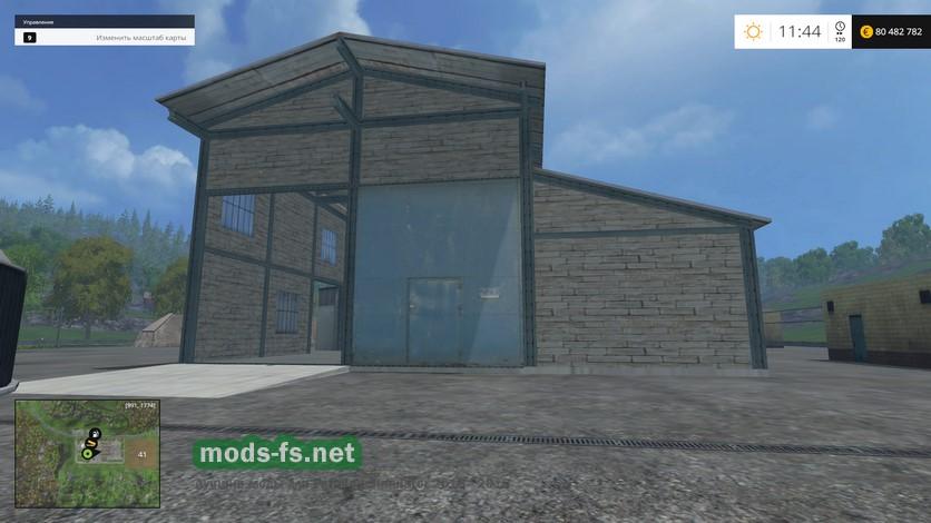 скачать моды на гараж для Farming Simulator 2015 - фото 11