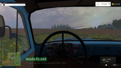За рулем грузовика
