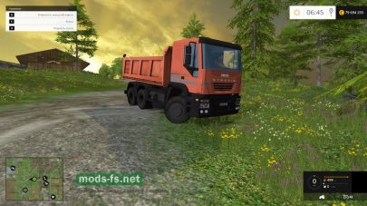 Мод Iveco Tipper