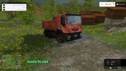 Мод грузовика для перевозки деревьев