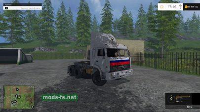 КАМАЗ 54115 из сериала «Дальнобойщики»