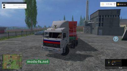 КамАЗ из Дальнобойщиков для Фермер Симулятор