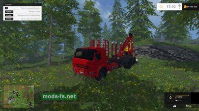 КамАЗ для работы в лесу