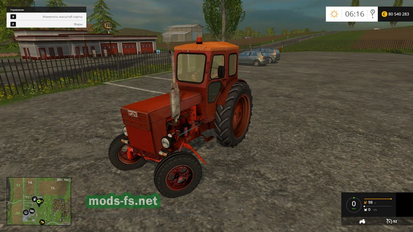скачать мод на трактор т 40 для игры фермер симулятор 2015 - фото 5
