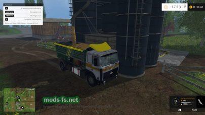 Перевозка силоса в Farming Simulator 2015