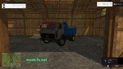 Мод MAZ-5551 Truck